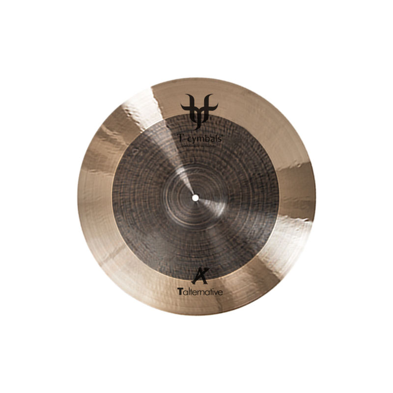"T-Cymbals 19"" Alternative Light Crash Cymbal"