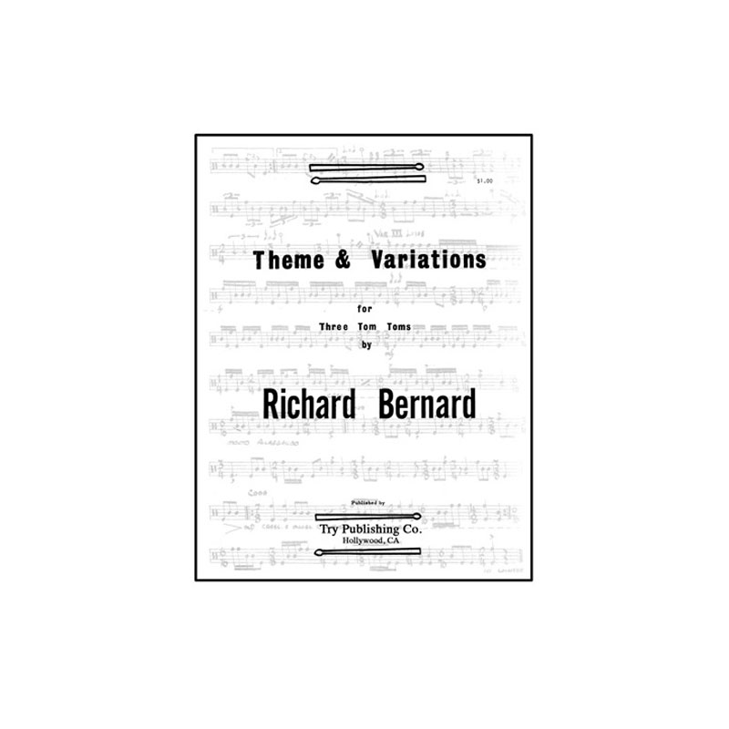 Theme and Variations for Three Tom-Toms by Richard Bernard