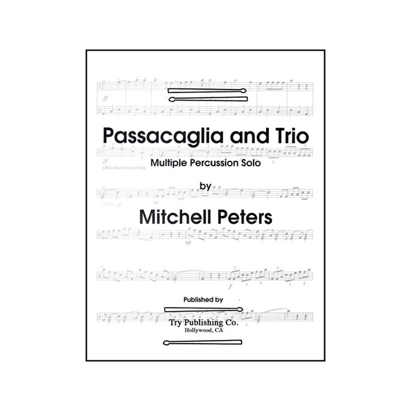 Passacaglia and Trio by Mitchell Peters