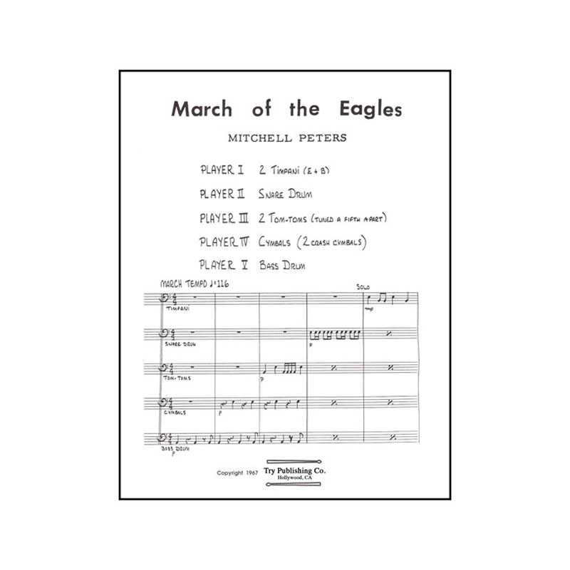 March of the Eagles by Mitchell Peters