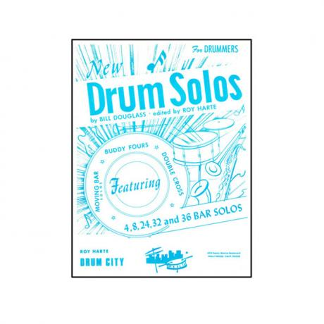 New Drum Solos by Bill Douglass