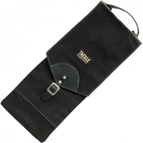 Tackle Instrument Supply Co. Black Waxed Canvas Compact Stick Bag