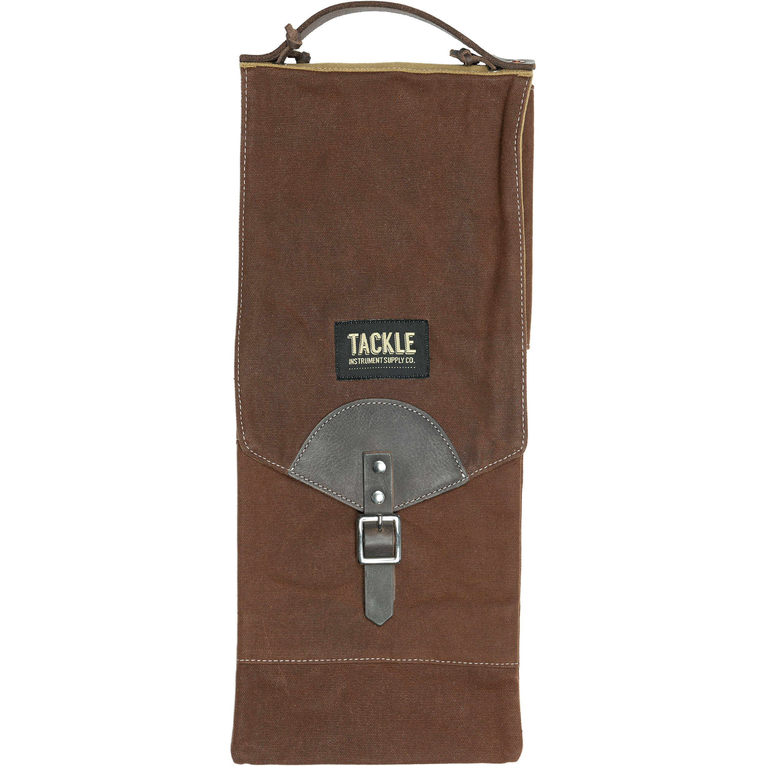 Tackle Instrument Supply Co. Brown Waxed Canvas Compact Stick Bag
