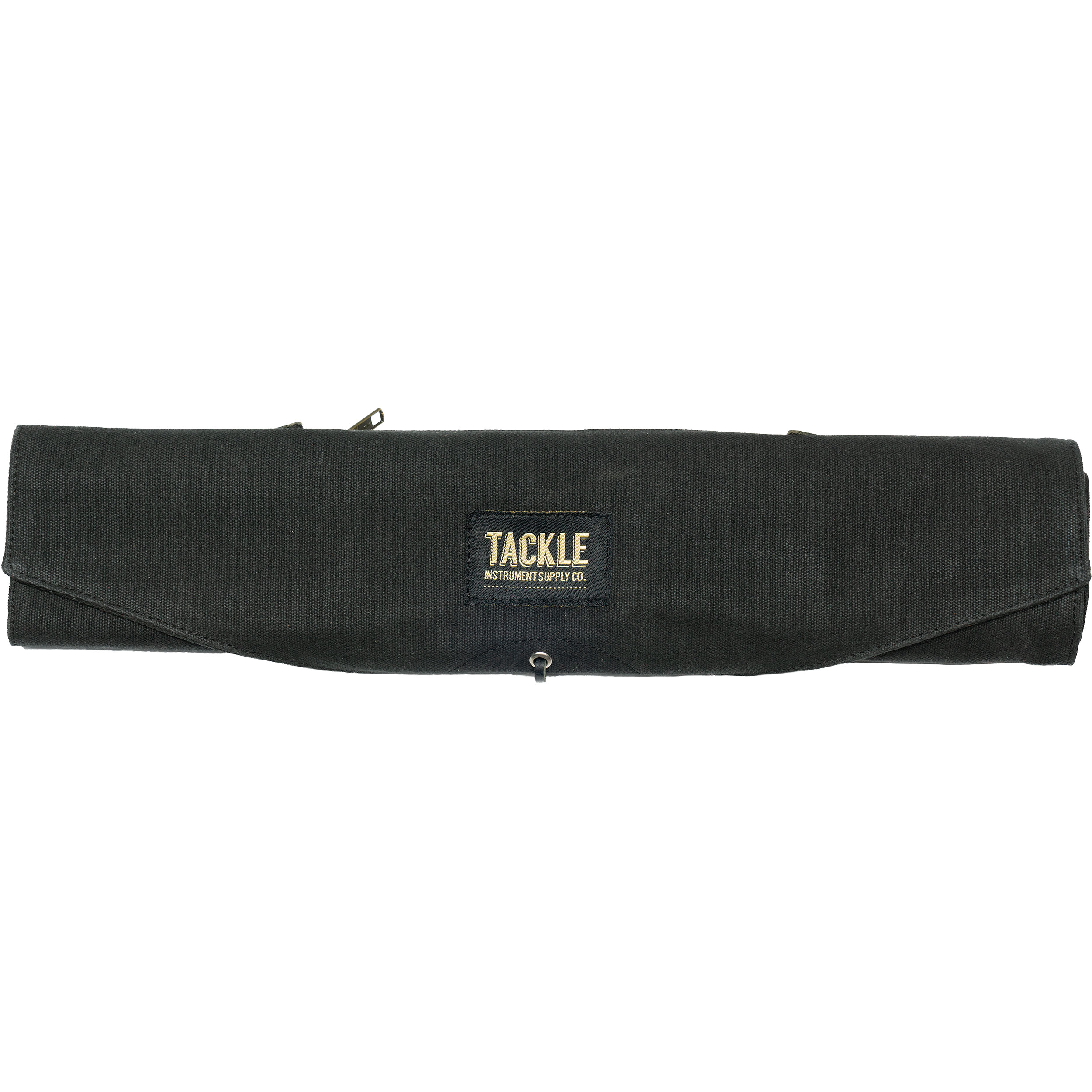 Tackle Instrument Supply Co. Black Waxed Canvas Roll Up Stick Bag