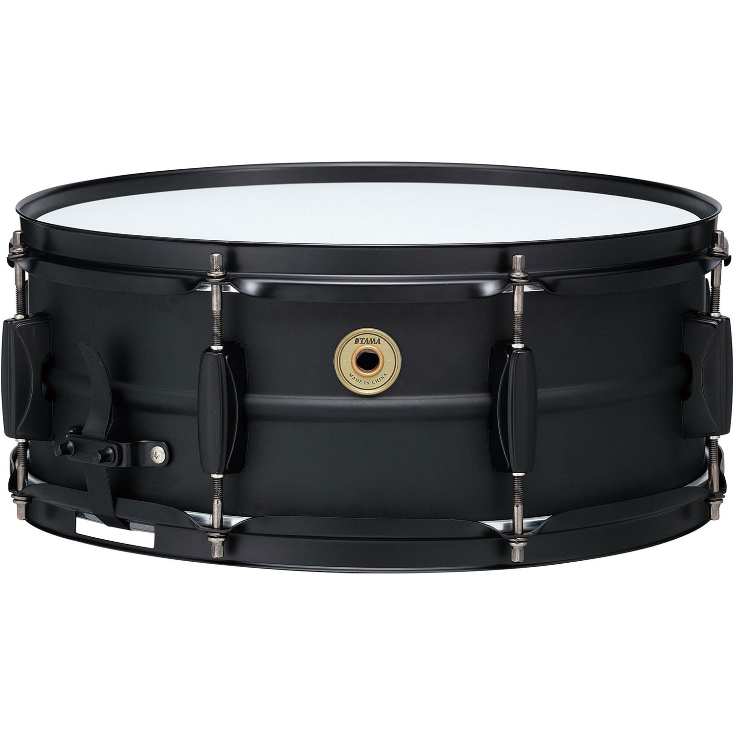 "Tama 5.5"" x 14"" Metalworks Steel Snare Drum in Matte Black with Matching Hardware"