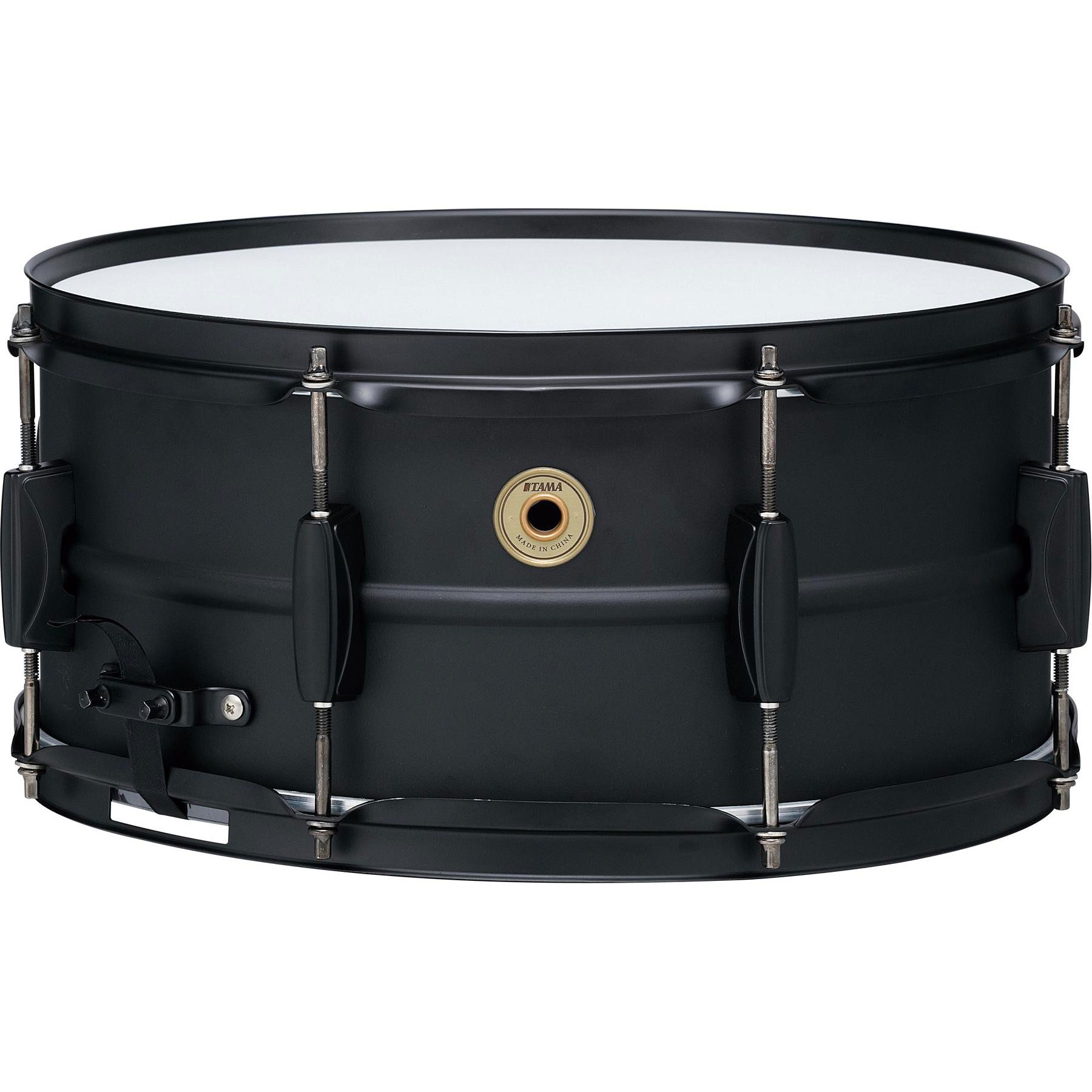 "Tama 6.5"" x 14"" Metalworks Steel Snare Drum in Matte Black with Matching Hardware"