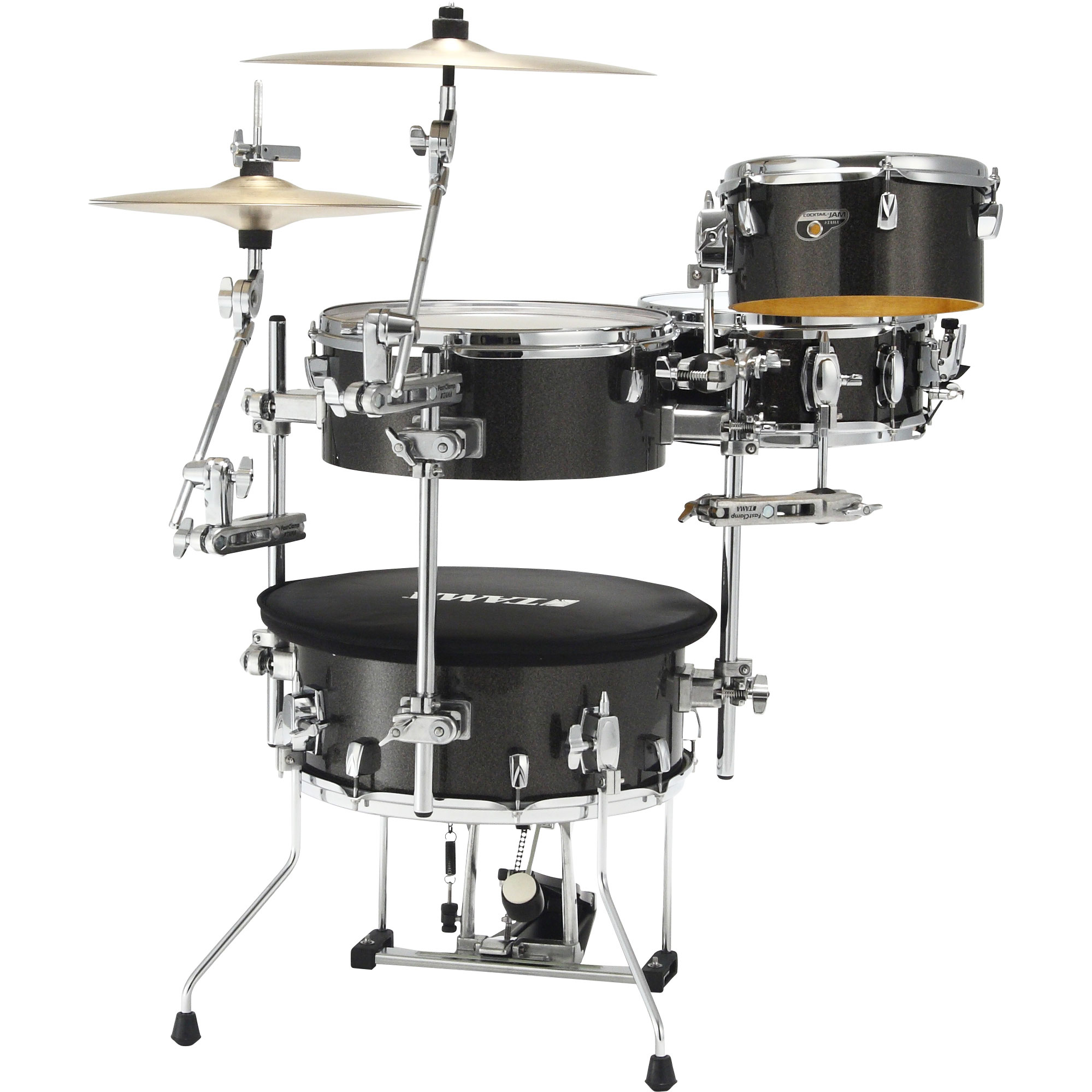"Tama Cocktail-Jam 4-Piece Drum Set Shell Pack (16"" Bass, 10/14"" Toms, 12"" Snare)"