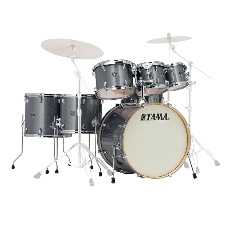 """Tama Superstar Classic 7-Piece Drum Set Shell Pack (22"""" Bass, 8/10/12/14/16"""" Toms, 14"""" Snare)"""