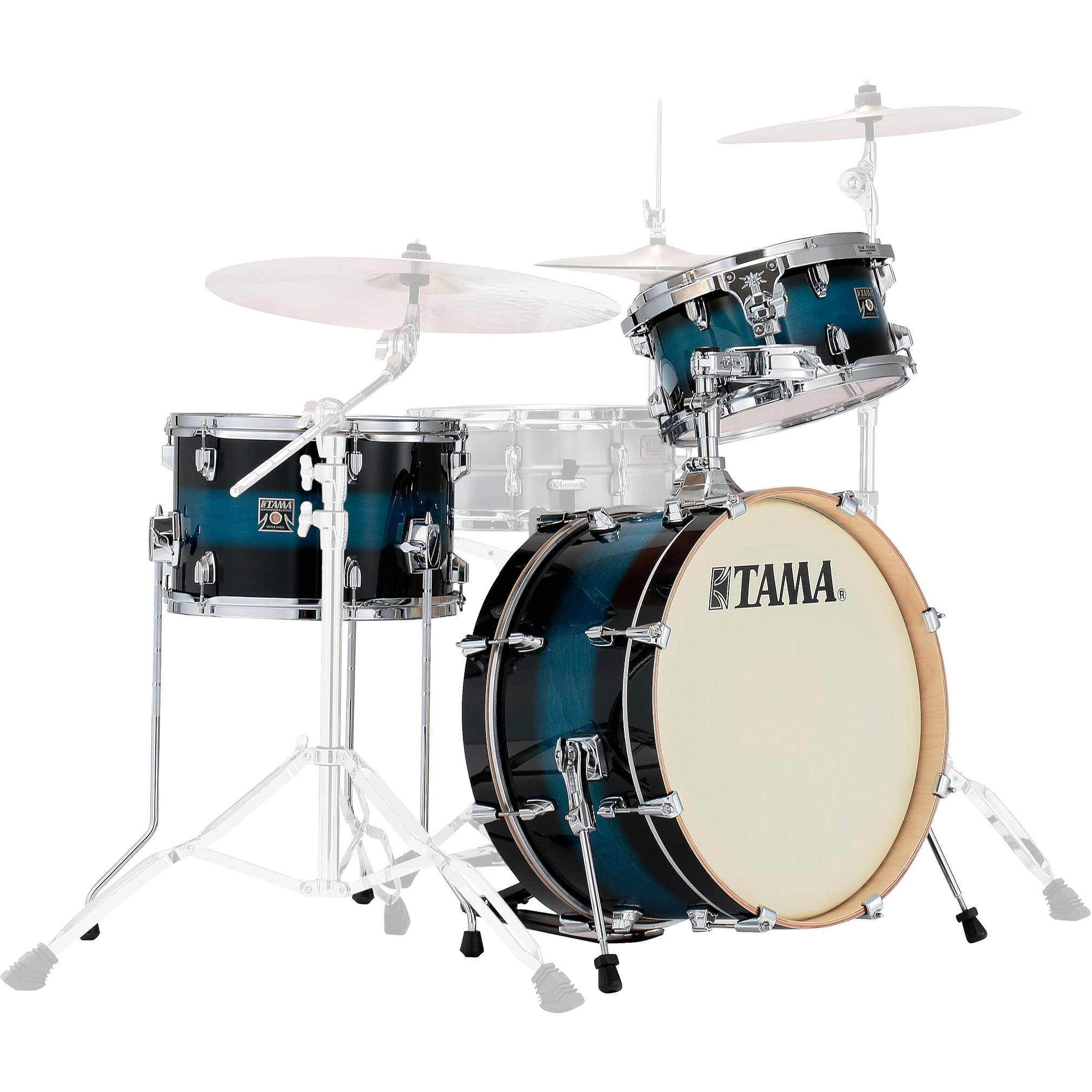 "Tama Superstar Classic 3-Piece Neo-Mod Drum Set Shell Pack (20"" Bass, 12/14"" Toms)"