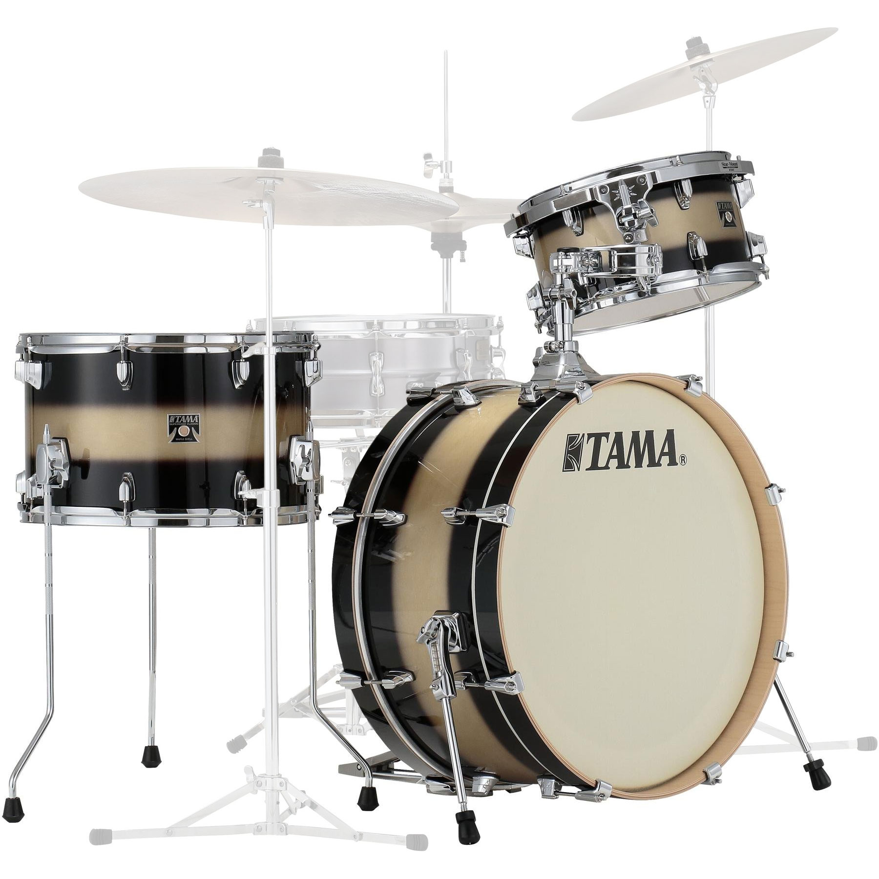 "Tama Superstar Classic Neo-Mod 3-Piece Drum Set Shell Pack (22"" Bass, 12/14"" Toms)"