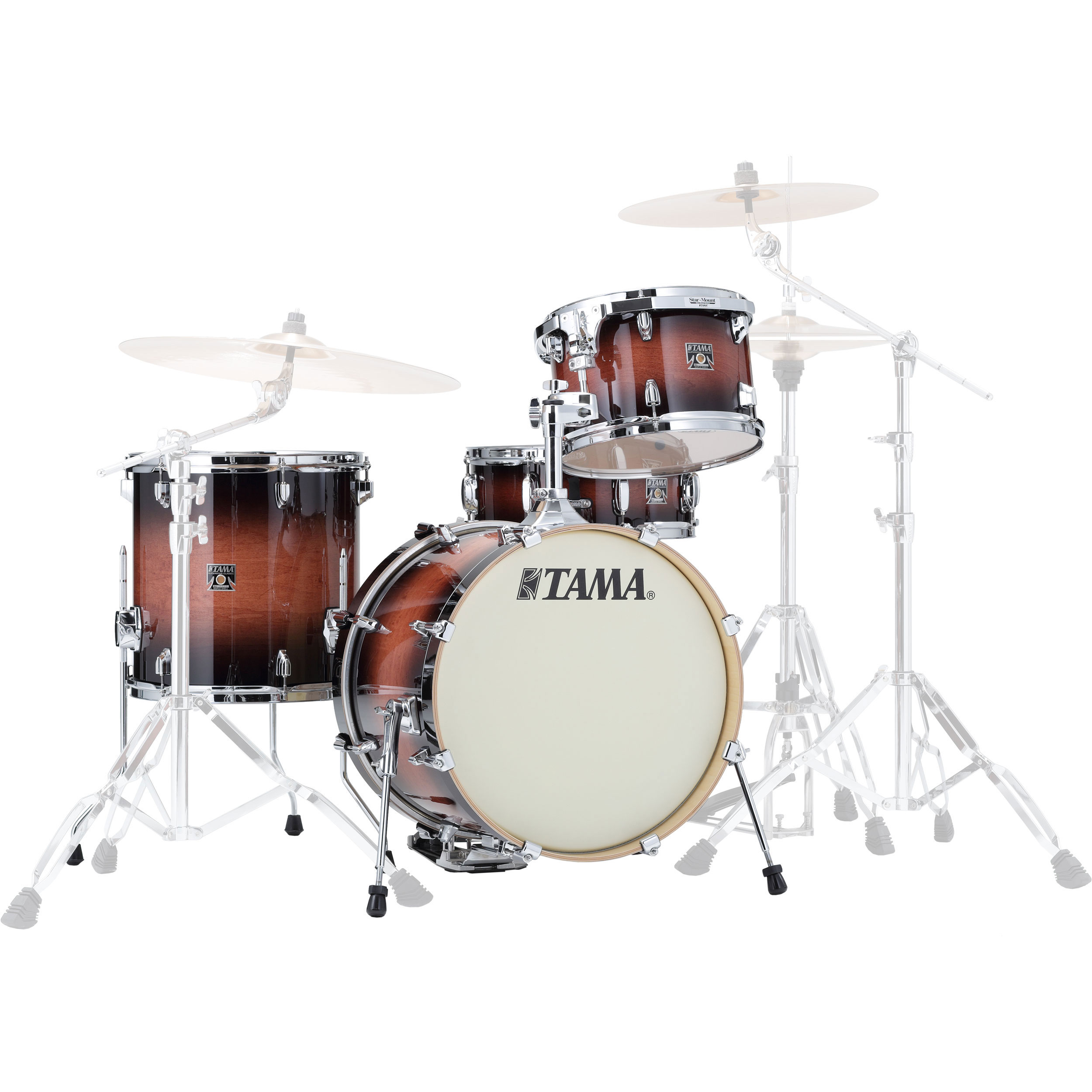 """Tama Superstar Classic """"Jazz Kit"""" 4-Piece Drum Set Shell Pack (18"""" Bass, 12/14"""" Toms, 14"""" Snare) in Lacquer Finish"""