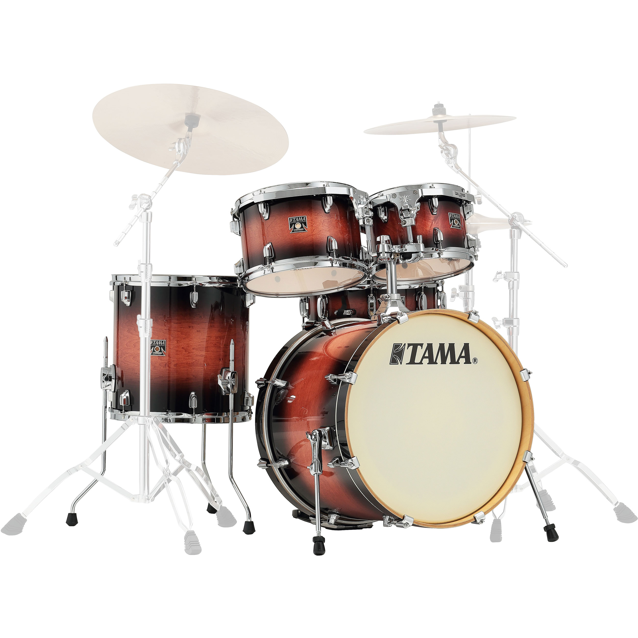 "Tama Superstar Classic 5-Piece Drum Set Shell Pack (20"" Bass, 10/12/14"" Toms, 14"" Snare) in Lacquer Finish"