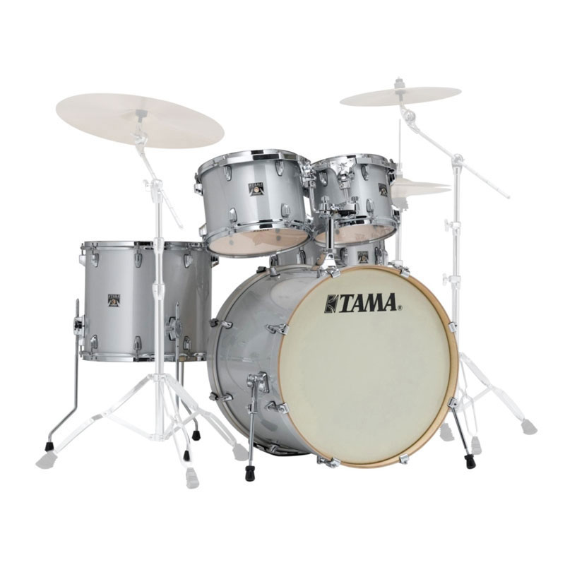 "Tama Superstar Classic 5-Piece Drum Set Shell Pack (22"" Bass, 10/12/16"" Toms, 14"" Snare) in Lacquer Finish"