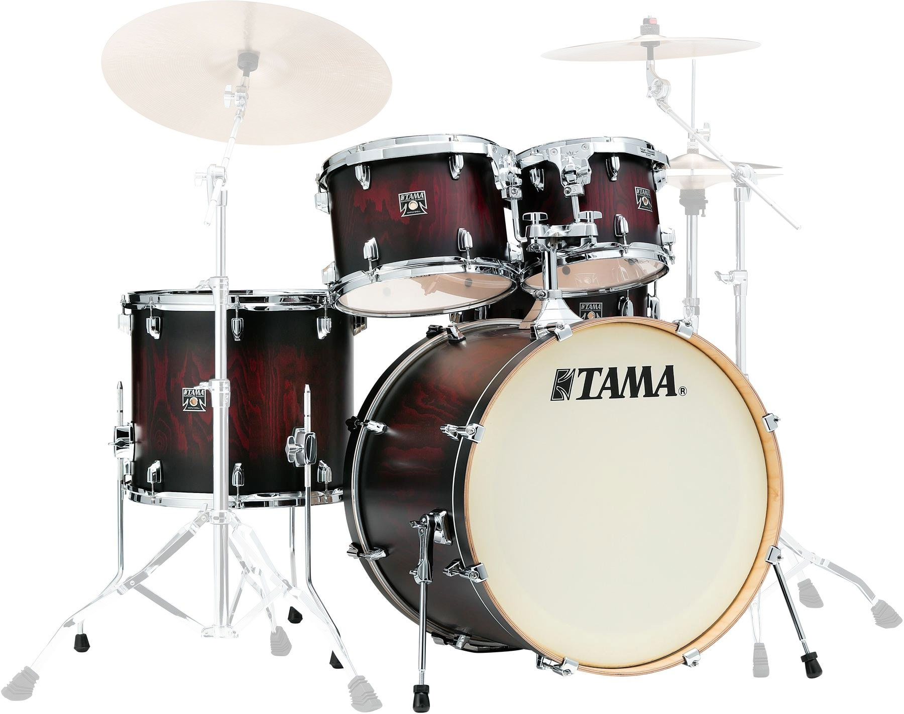 "Tama Superstar Classic Exotix 5-piece Drum Set Shell Pack (22"" Bass, 10/12/16"" Toms, 14"" Snare)"