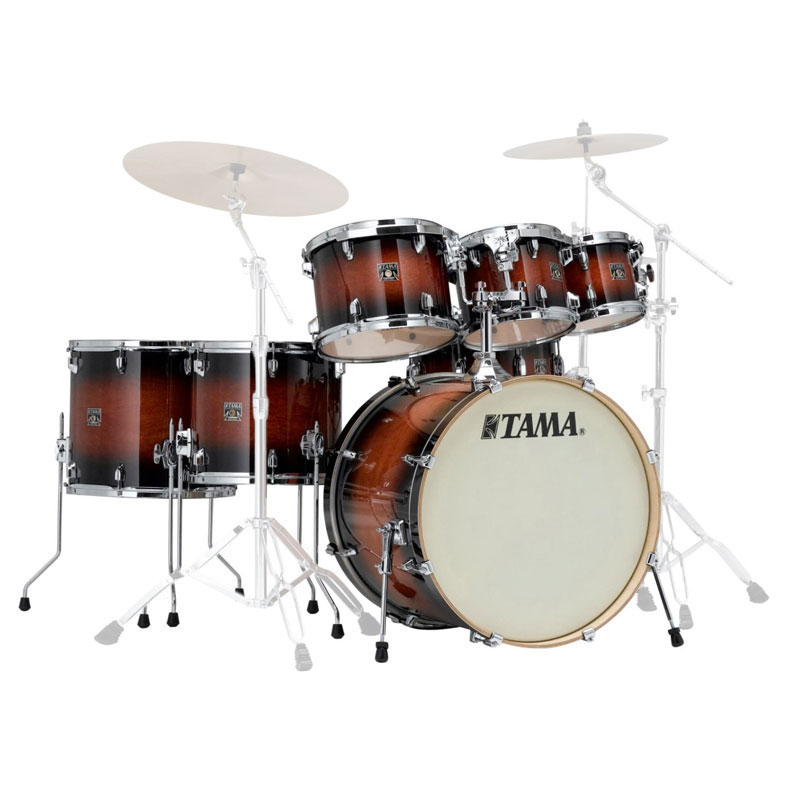 "Tama Superstar Classic 7-Piece Drum Set Shell Pack (22"" Bass, 8/10/12/14/16"" Toms, 14"" Snare) in Lacquer Finish"