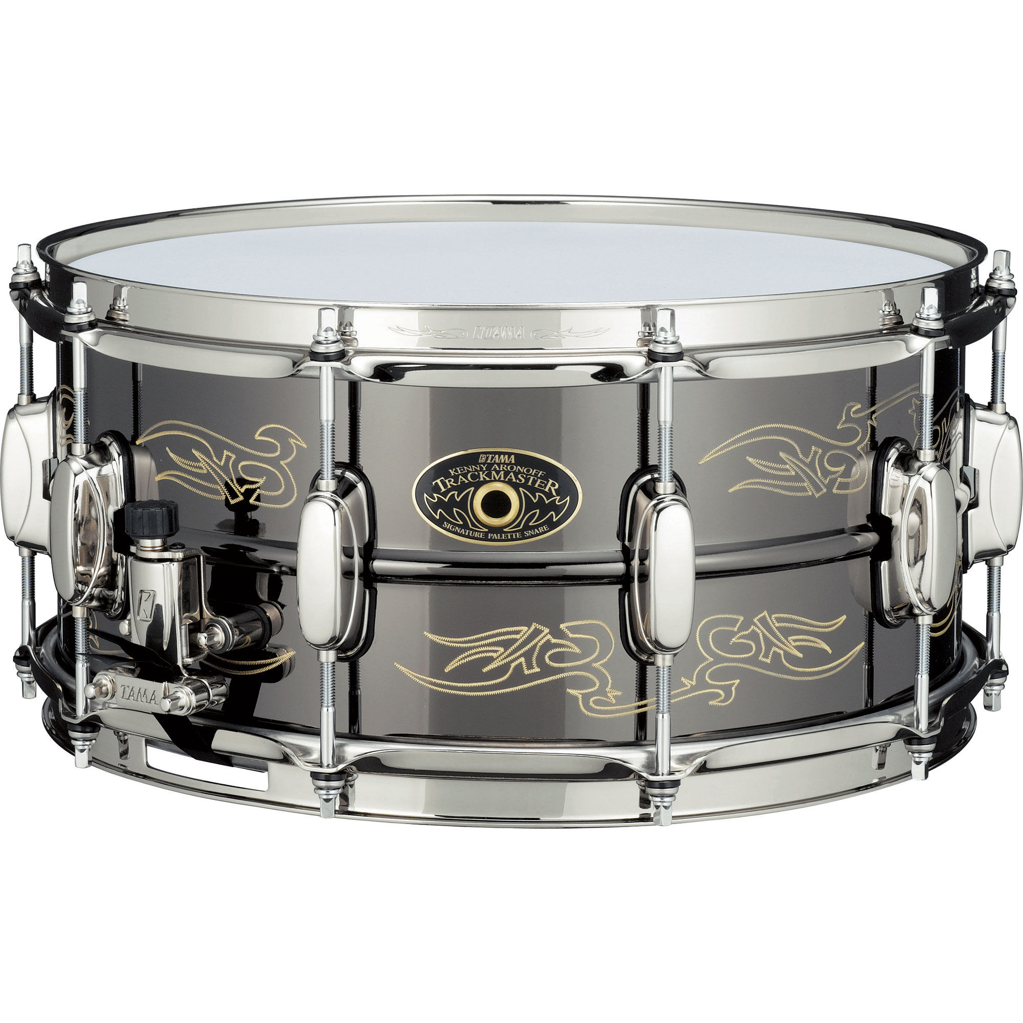 "Tama 5"" x 14"" Kenny Aronoff Trackmaster Signature Brass Snare Drum"