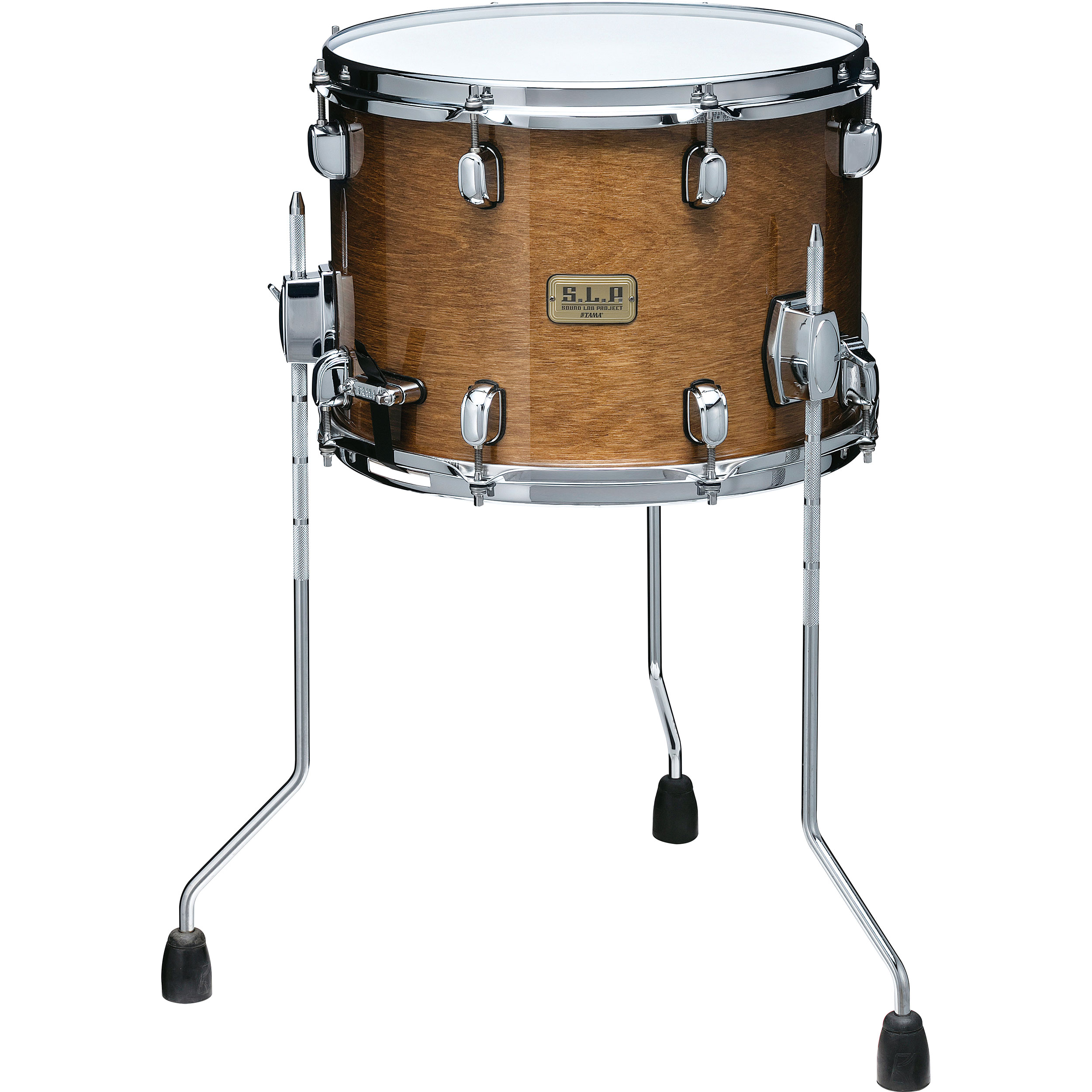 "Tama 10"" x 14"" S.L.P. Duo Birch Snare Drum with Legs"