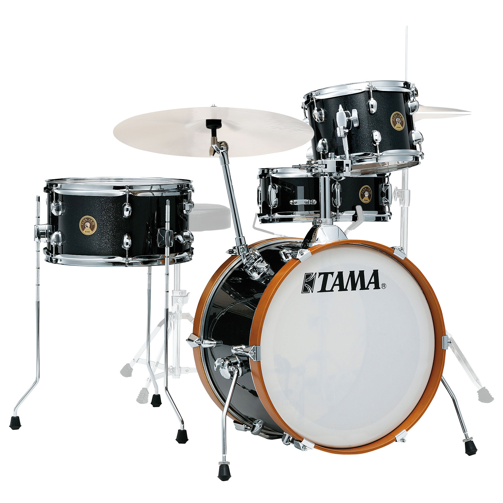 "Tama Club-Jam 4-Piece Drum Set Shell Pack (18"" Bass, 10/14"" Toms, 13"" Snare)"