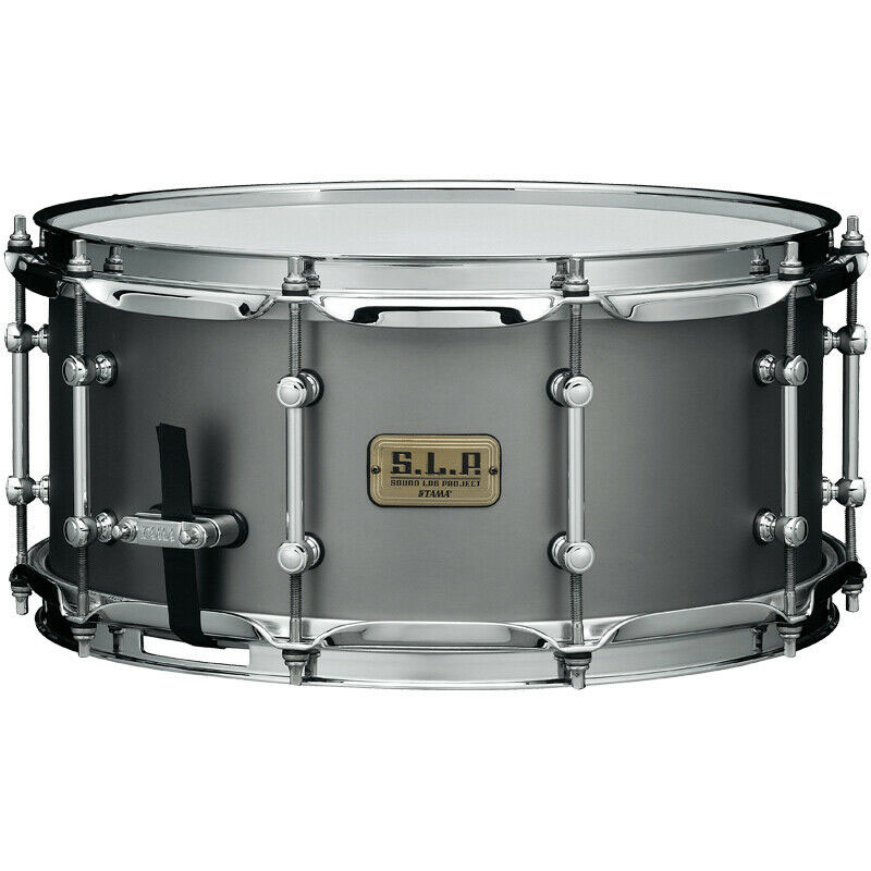"""Tama 6.5"""" x 14"""" S.L.P. Stainless Steel Snare Drum"""