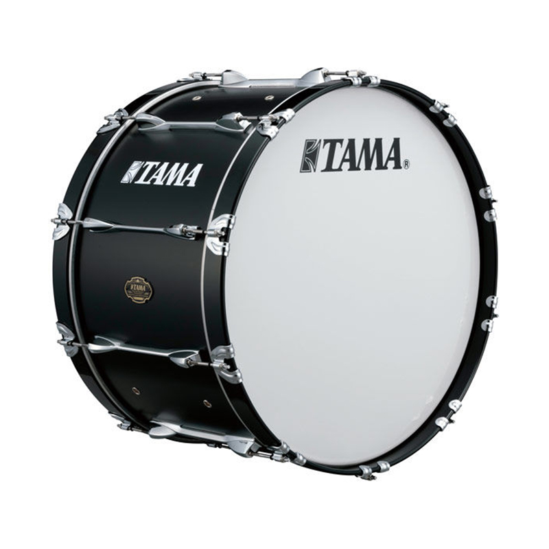 "Tama 16"" Maple Marching Bass Drum in Satin Black"