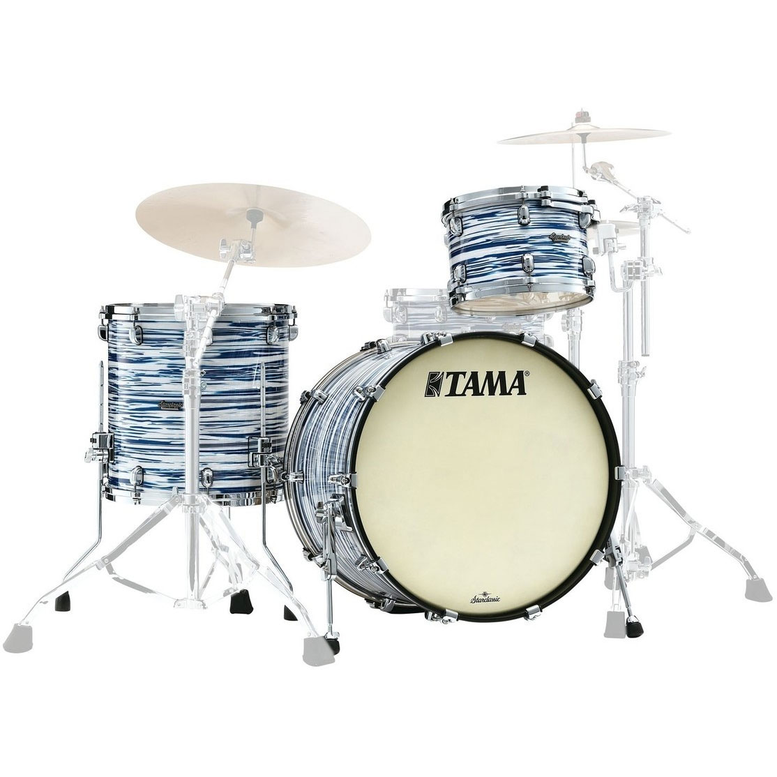 "Tama Starclassic Maple 3-Piece Drum Set Shell Pack (20"" Bass, 12/14"" Toms)"