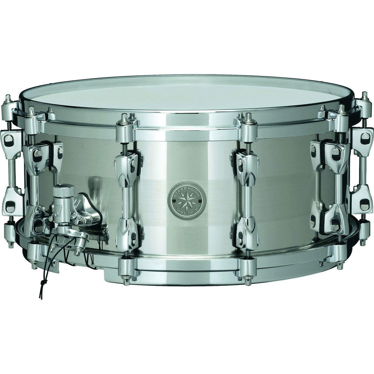 "Tama 6"" x 14"" Starphonic Stainless Steel Snare Drum"