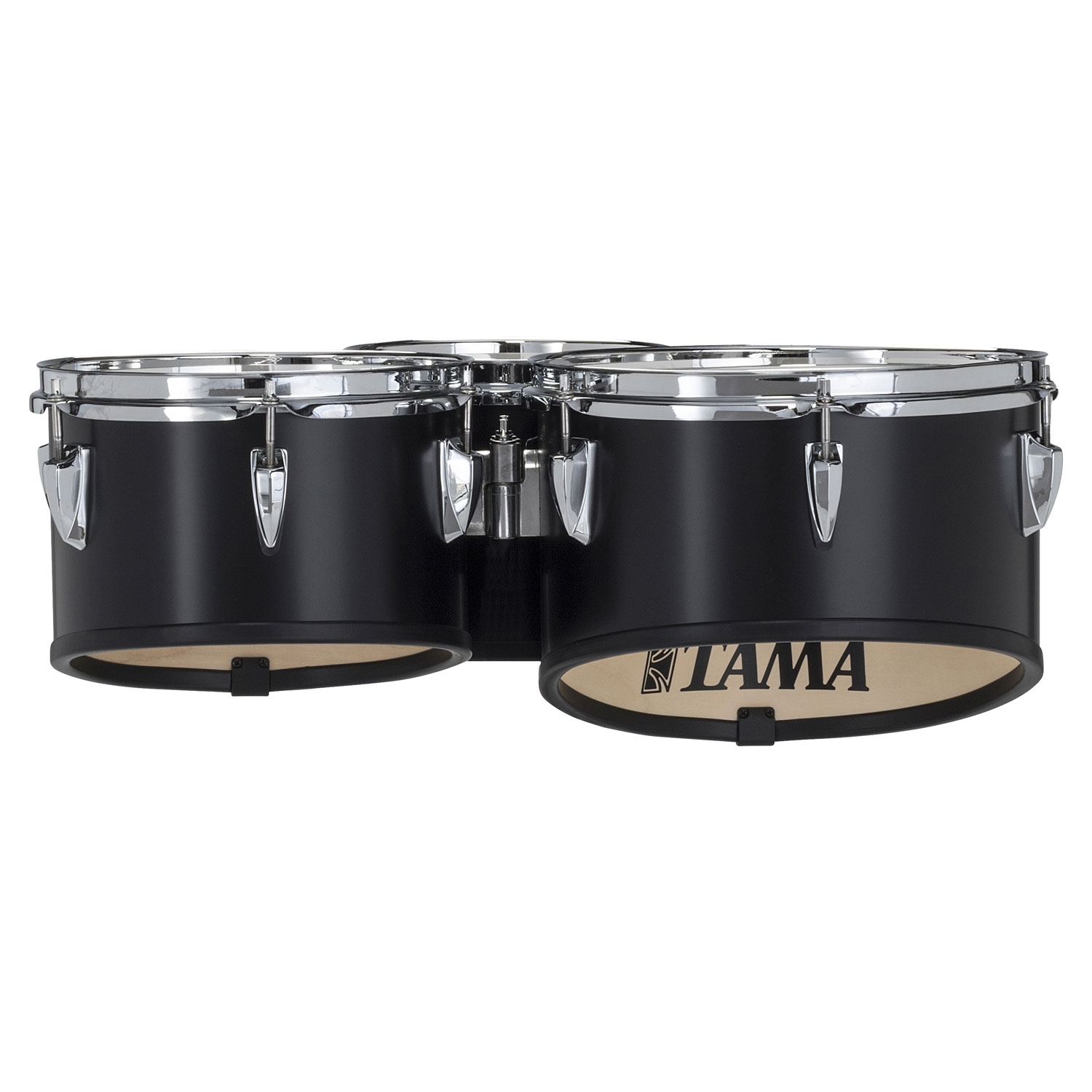 "Tama 8-10-12"" StarLight Marching Tenors in Satin Black Lacquer"