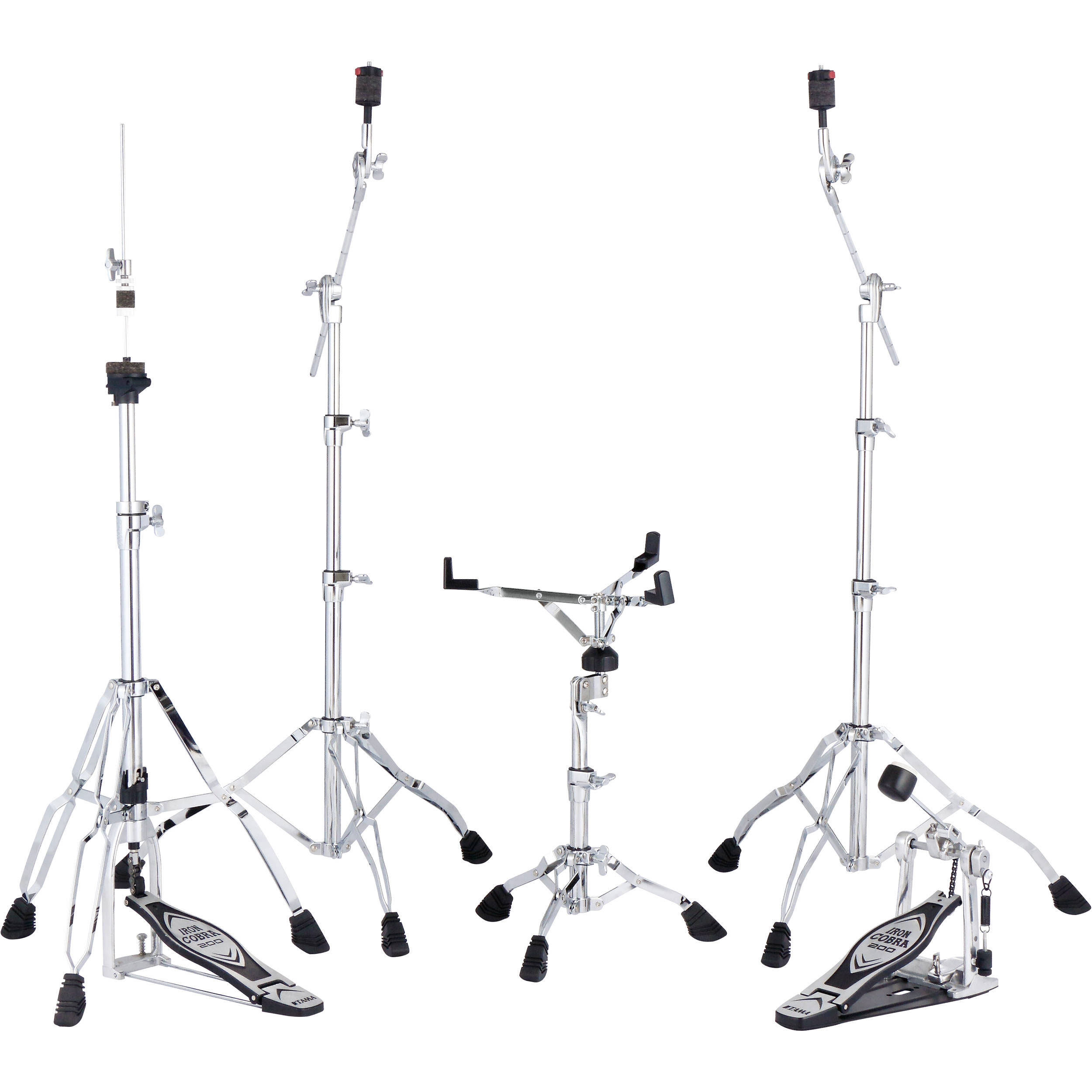 Tama Stage Master Hardware Pack (Includes HC43BWN(x2), HS40WN, HP200P and HH205)