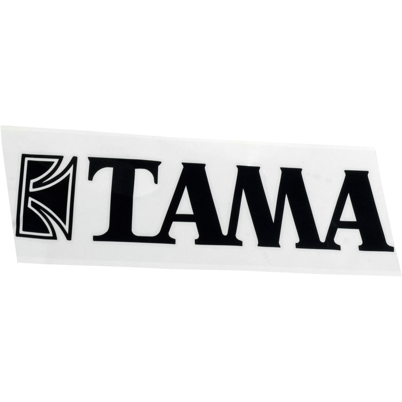 """Tama Black Logo Decal for 14"""" - 22"""" Bass Drums"""