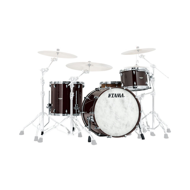 "Tama Star Walnut 3-Piece Drum Set Shell Pack (20"" Bass, 12/14"" Toms)"