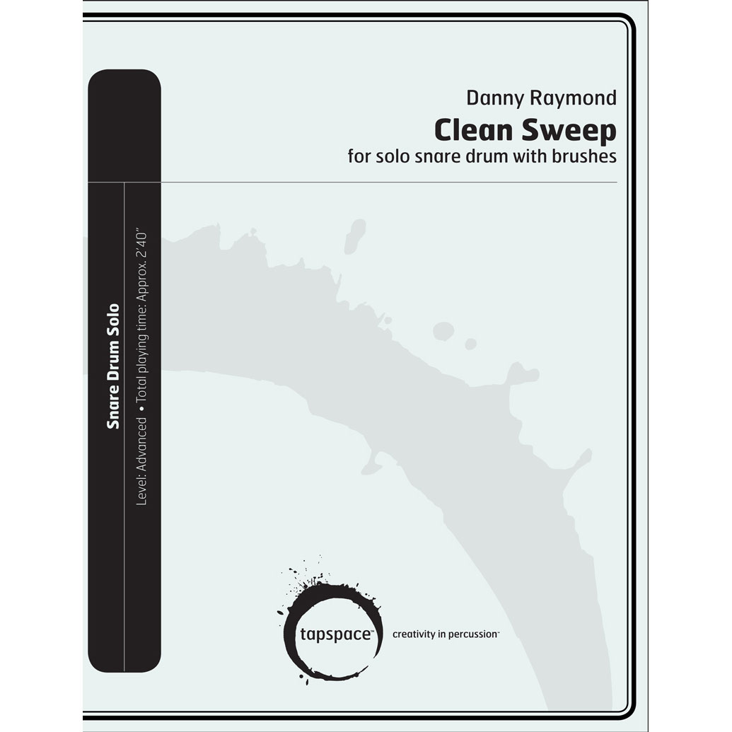 Clean Sweep for Solo Snare Drum with Brushes by Danny Raymond