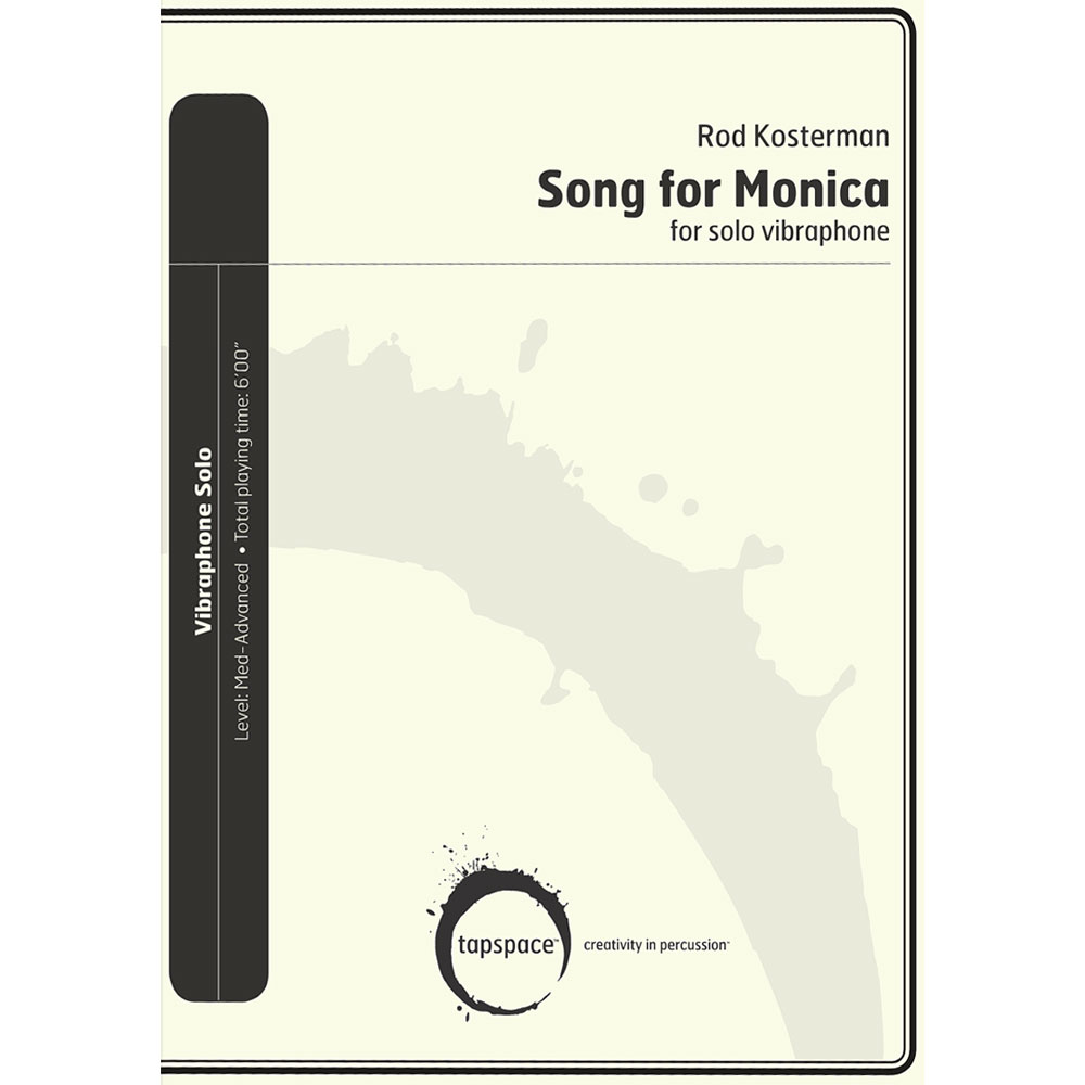 Song for Monica by Rod Kosterman