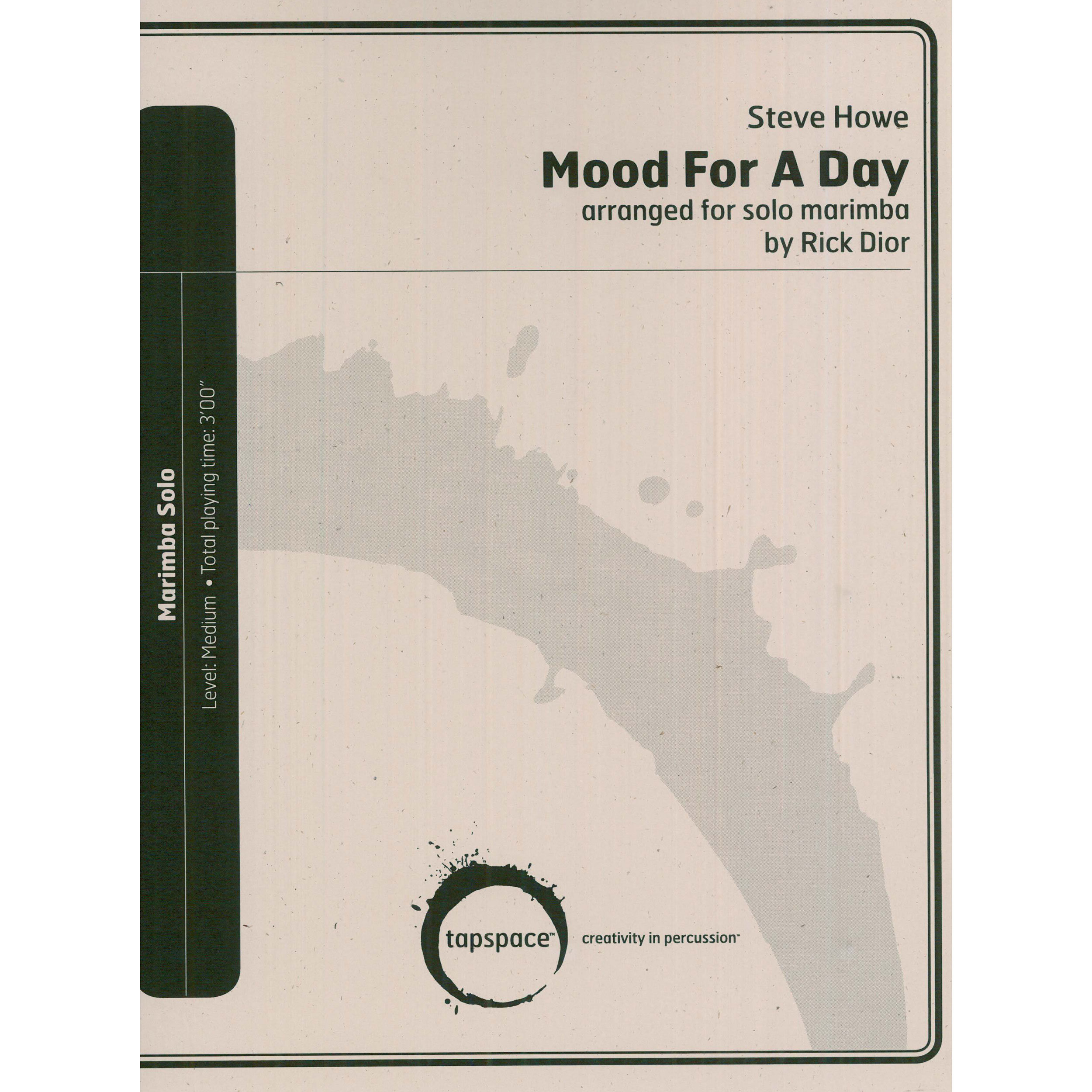 Mood for a Day by Steve Howe (Yes) arr. Rick Dior