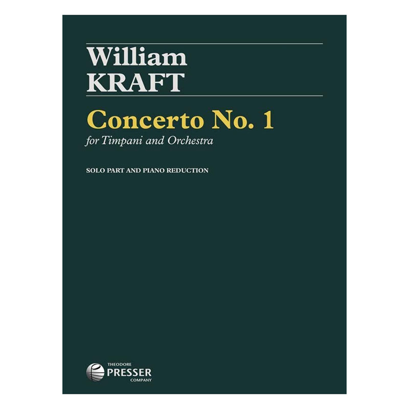 Concerto for Timpani and Orchestra (Piano Reduction) by William Kraft