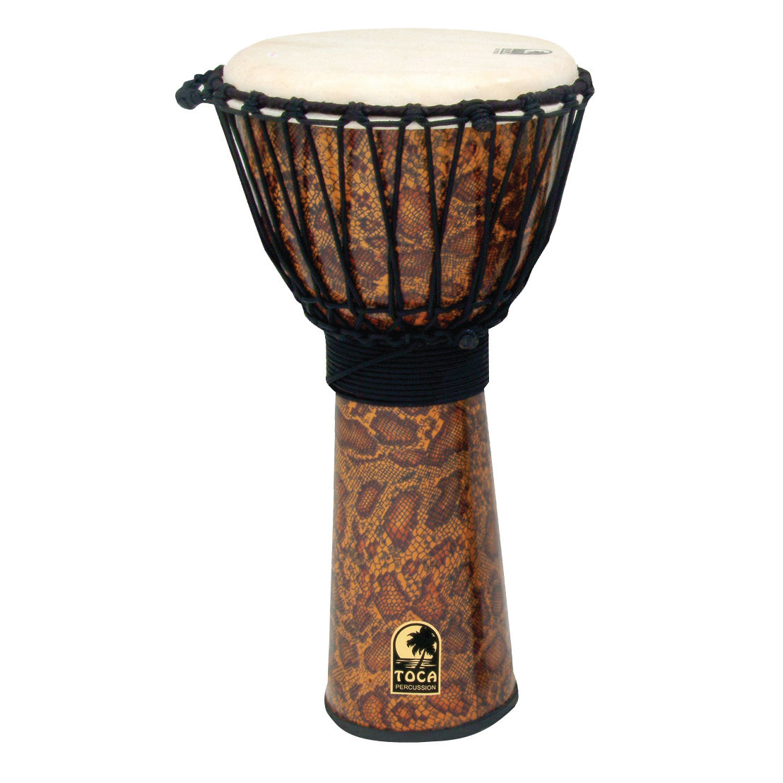"Toca 12"" Freestyle Rope-Tuned Djembe"