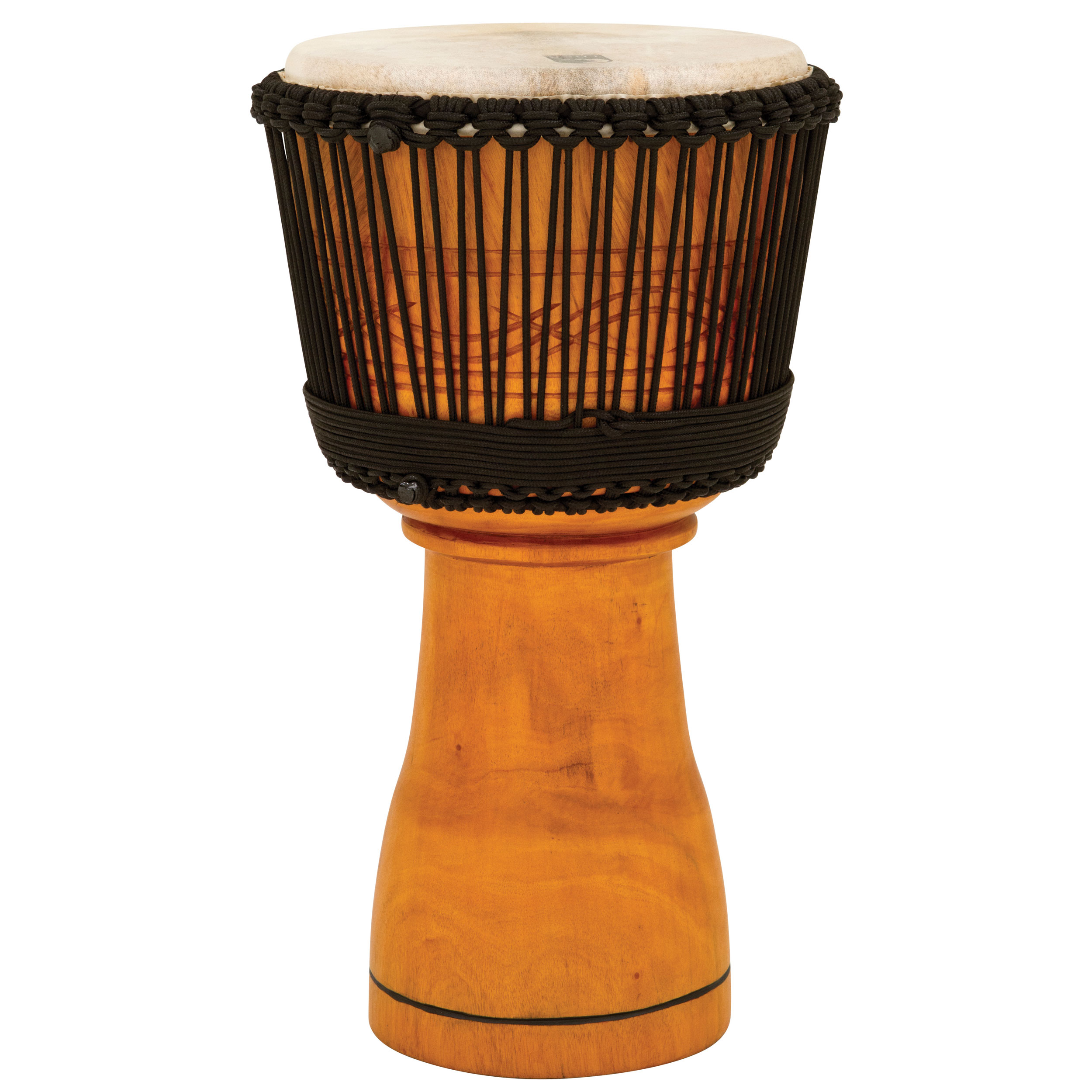 """Toca 12"""" Master Series Rope-Tuned Wood Djembe"""