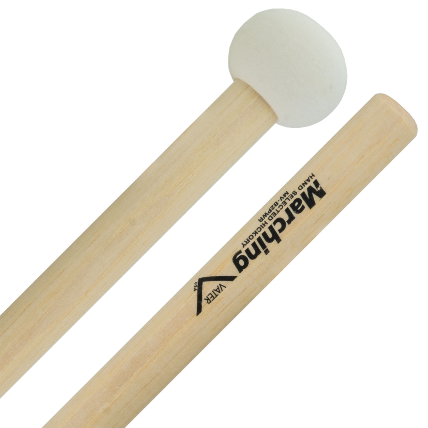 Vater MV-B2PWR Small Power Marching Bass Mallets