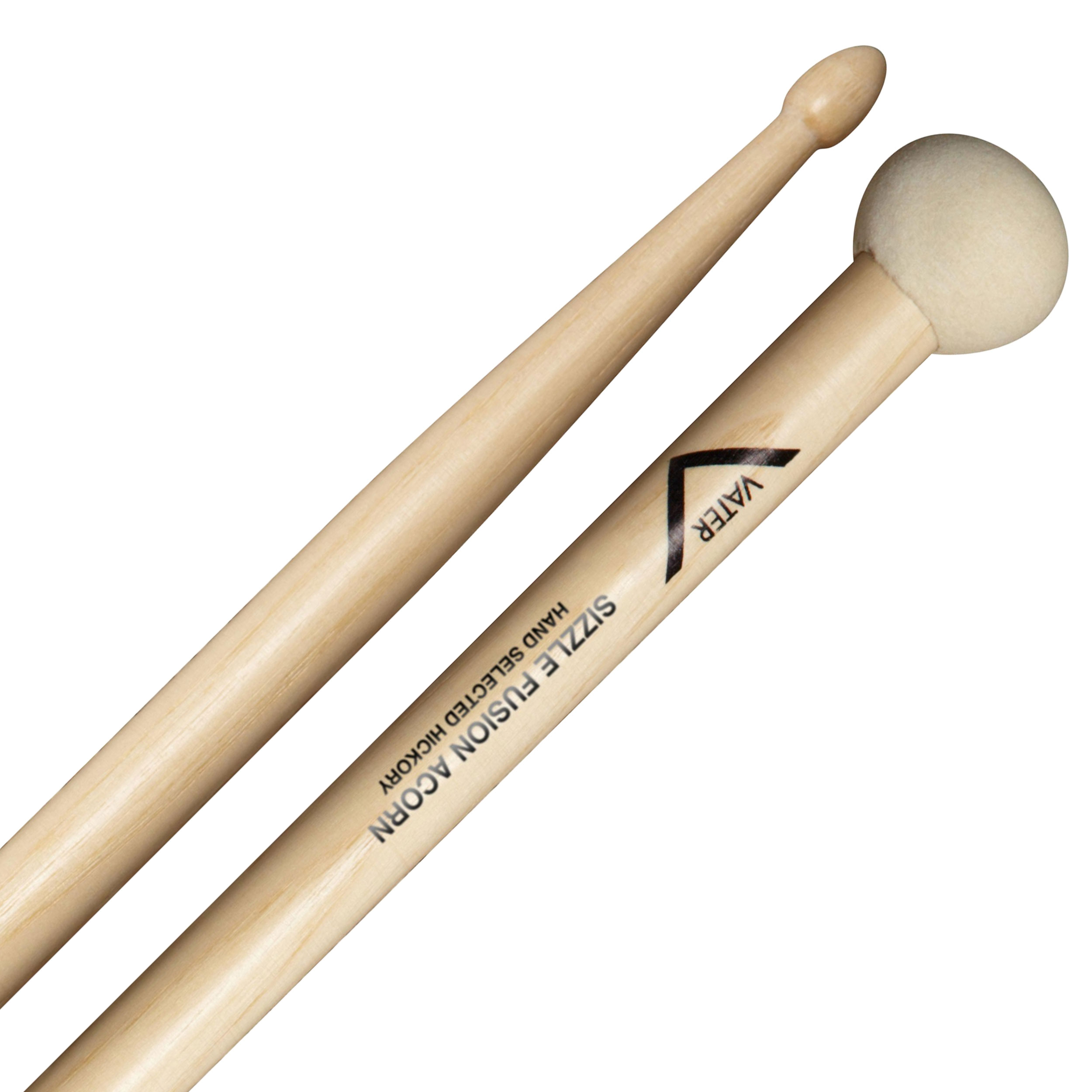 Vater Sizzle Fusion Acorn Hybrid Drumstick/Mallets