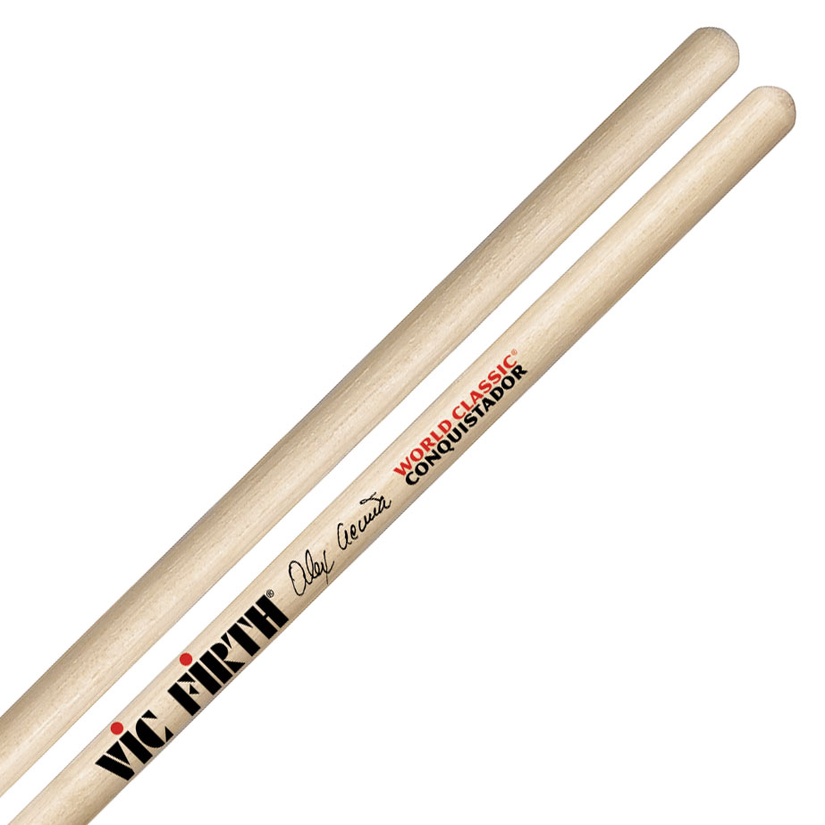 Vic Firth Alex Acuna Conquistador Clear Timbale Sticks