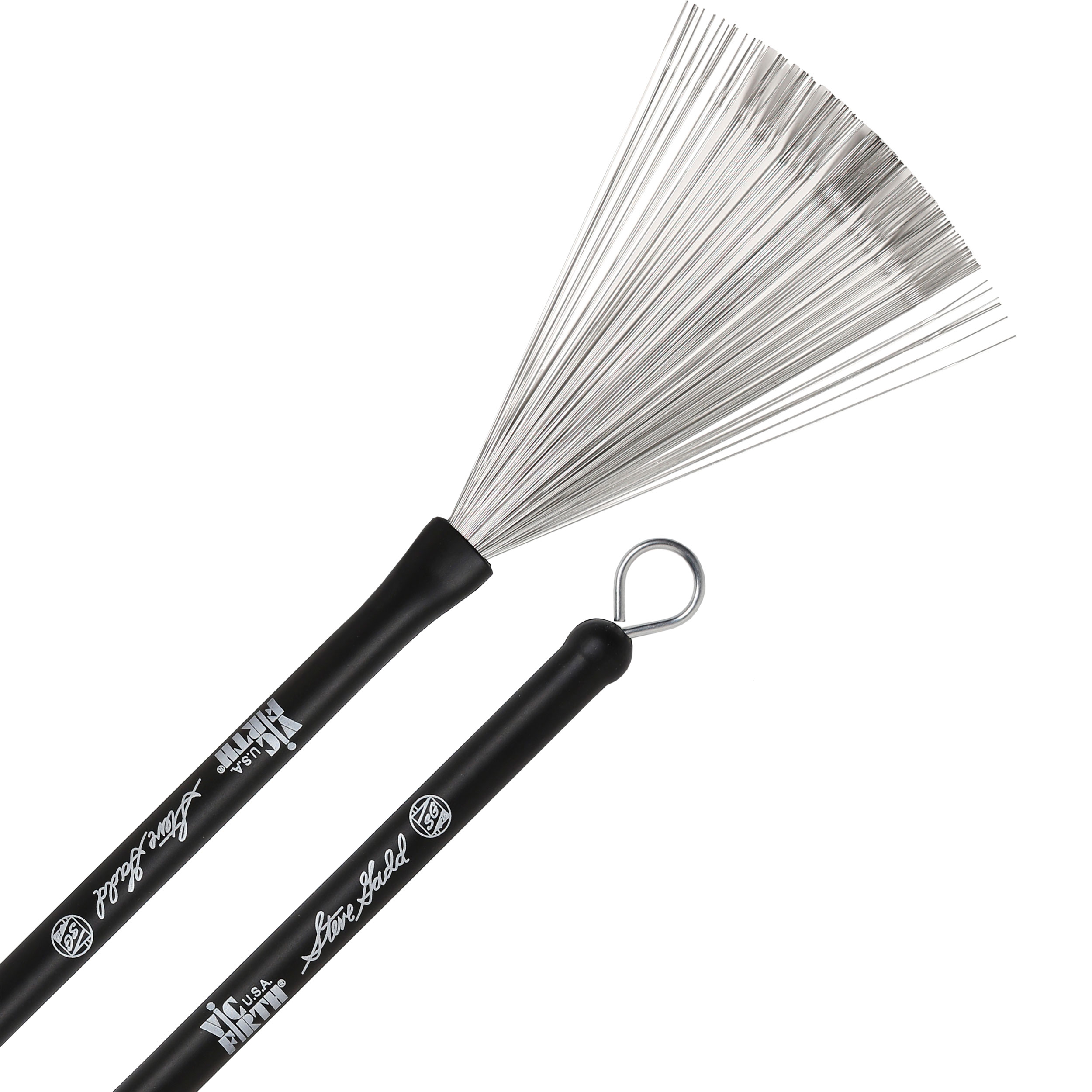 Vic Firth Steve Gadd Retractable Signature Wire Brushes
