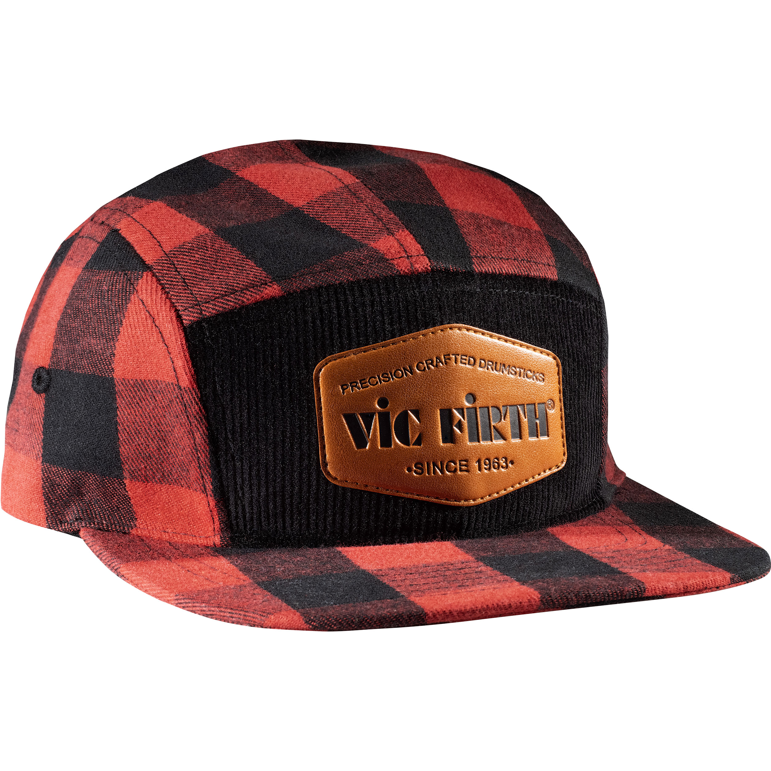 Vic Firth Limited Edition Flannel 5-Panel Camp Hat