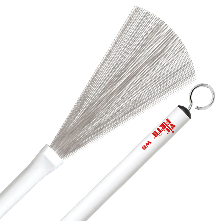 Vic Firth Wire Brushes with Plastic Handle