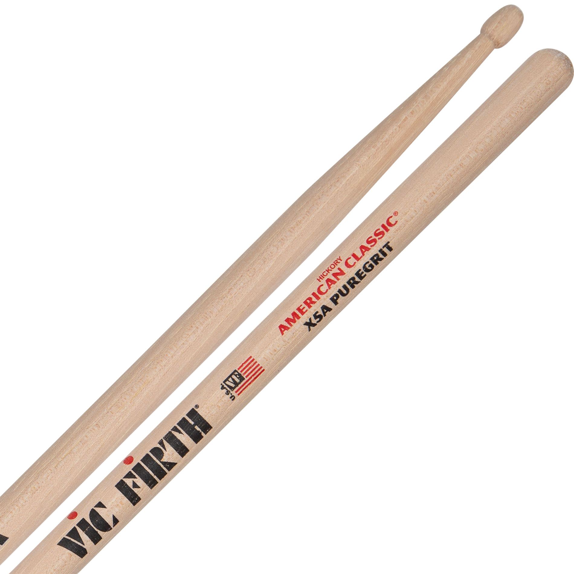 3 Paar Vic Firth 5A Pure Grit American Classic USA Drumsticks VF5APG  *Bundle*