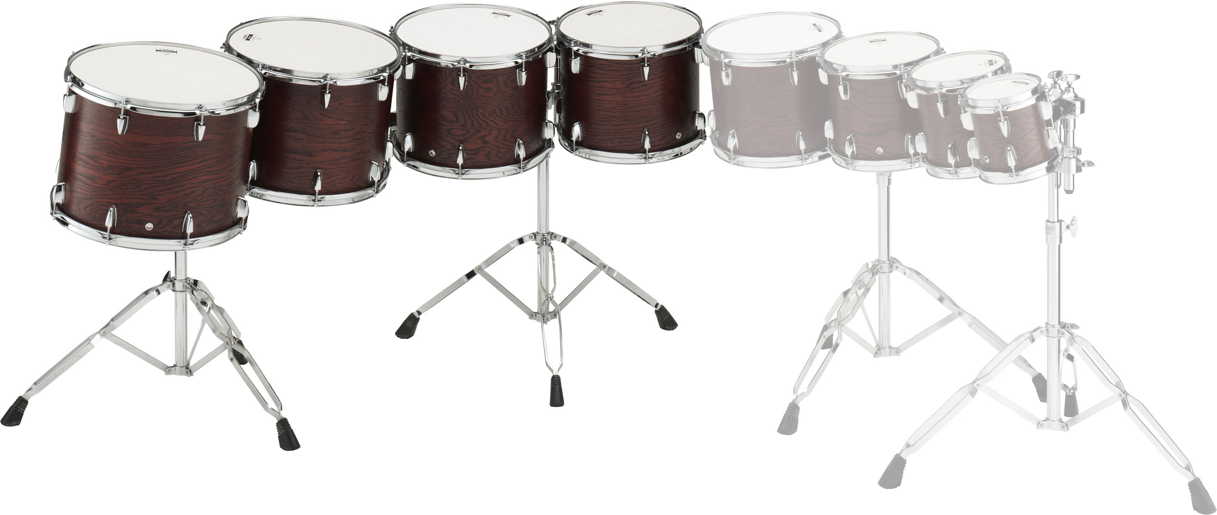 "Yamaha 10/12/13/14"" Grand Series Concert Tom Set with Stands"