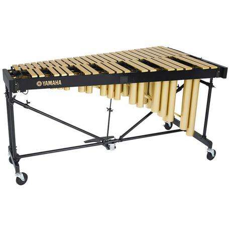 Yamaha 3.5 Oct Gold Soloist Vibraphone with Cover