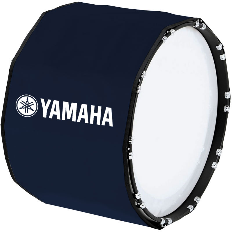 "Yamaha 16"" Custom Color Marching Bass Cover"