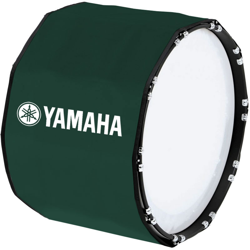 "Yamaha 18"" Custom Color Marching Bass Cover"