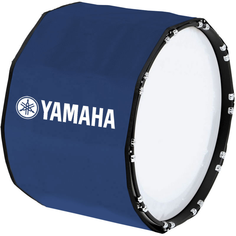 "Yamaha 24"" Custom Color Marching Bass Cover"