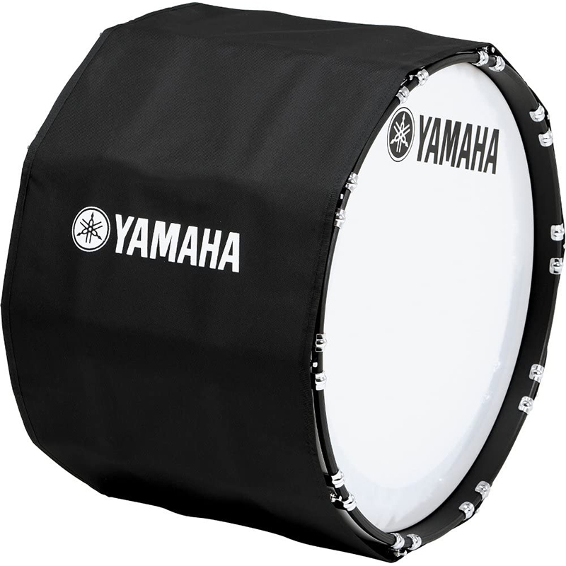 "Yamaha 32"" (Diameter) x 14"" (Deep) Black Marching Bass Cover (8300 Series)"