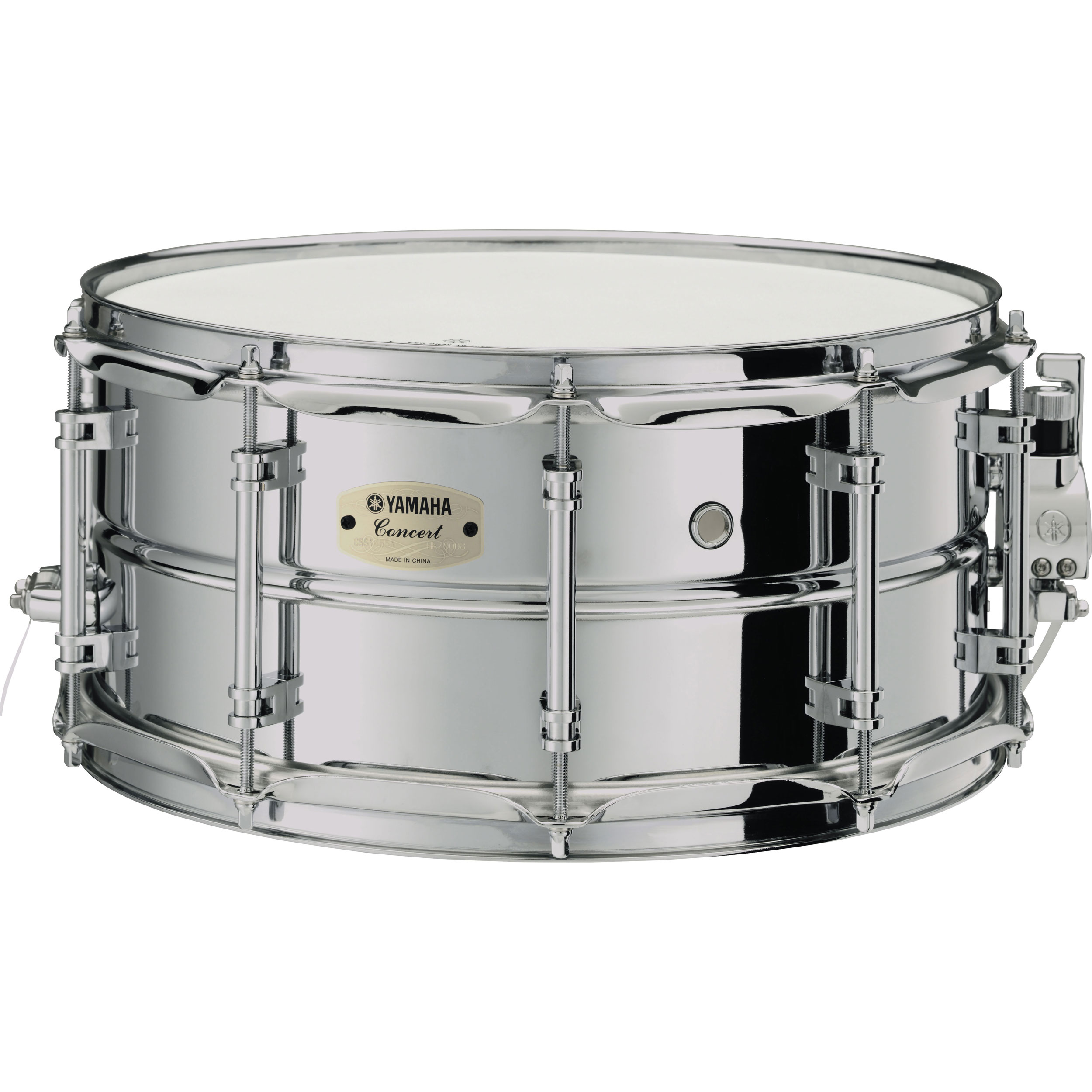 """Yamaha CSS-A Series 14"""" x 6.5"""" Steel Concert Snare Drum"""